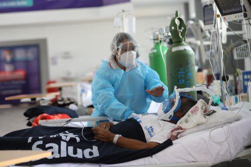 Covid-19: ponen en marcha nueva planta de oxígeno para pacientes de Villa EsSalud Huánuco