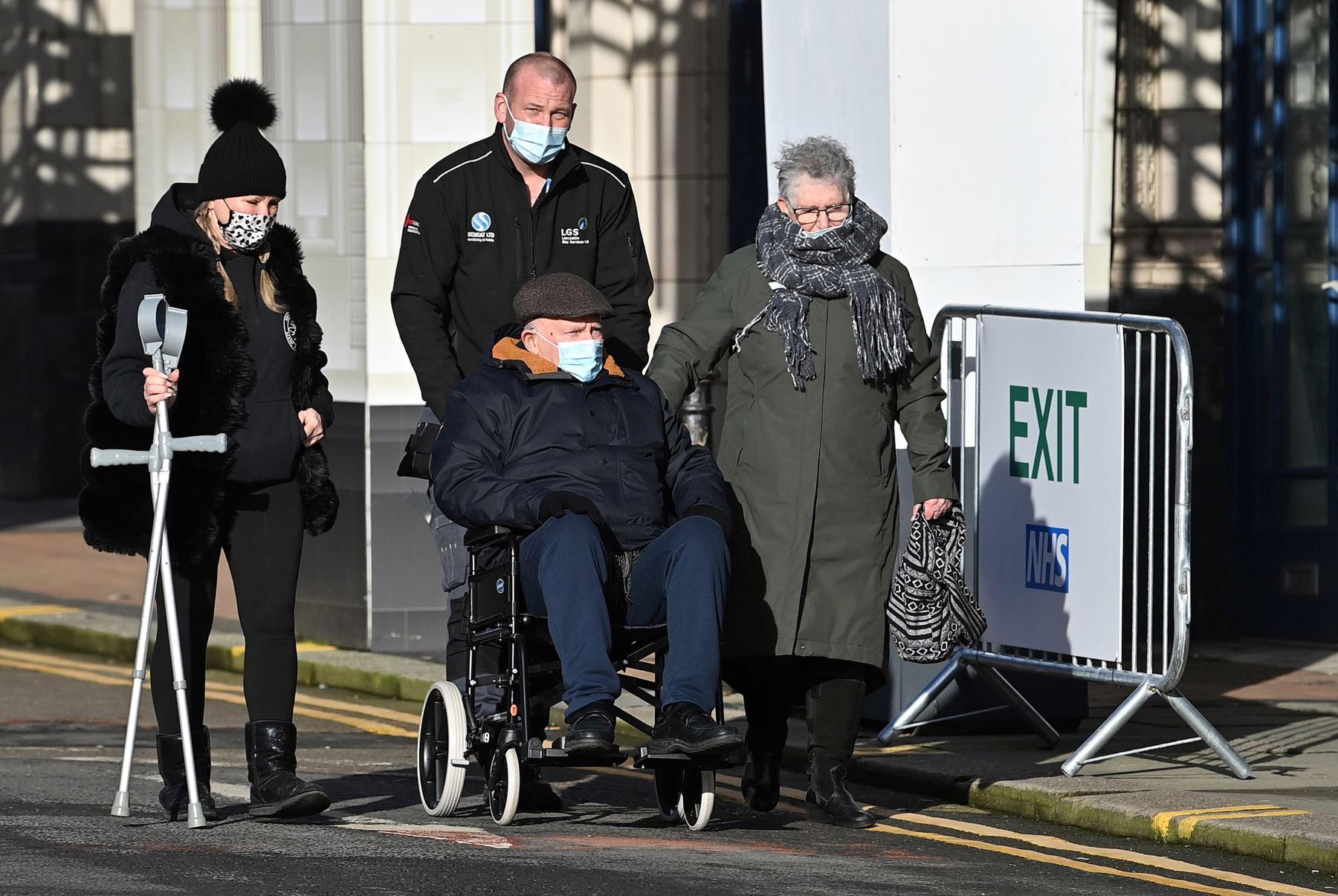 Reino Unido supera los 100.000 muertos por covid-19. Foto: AFP