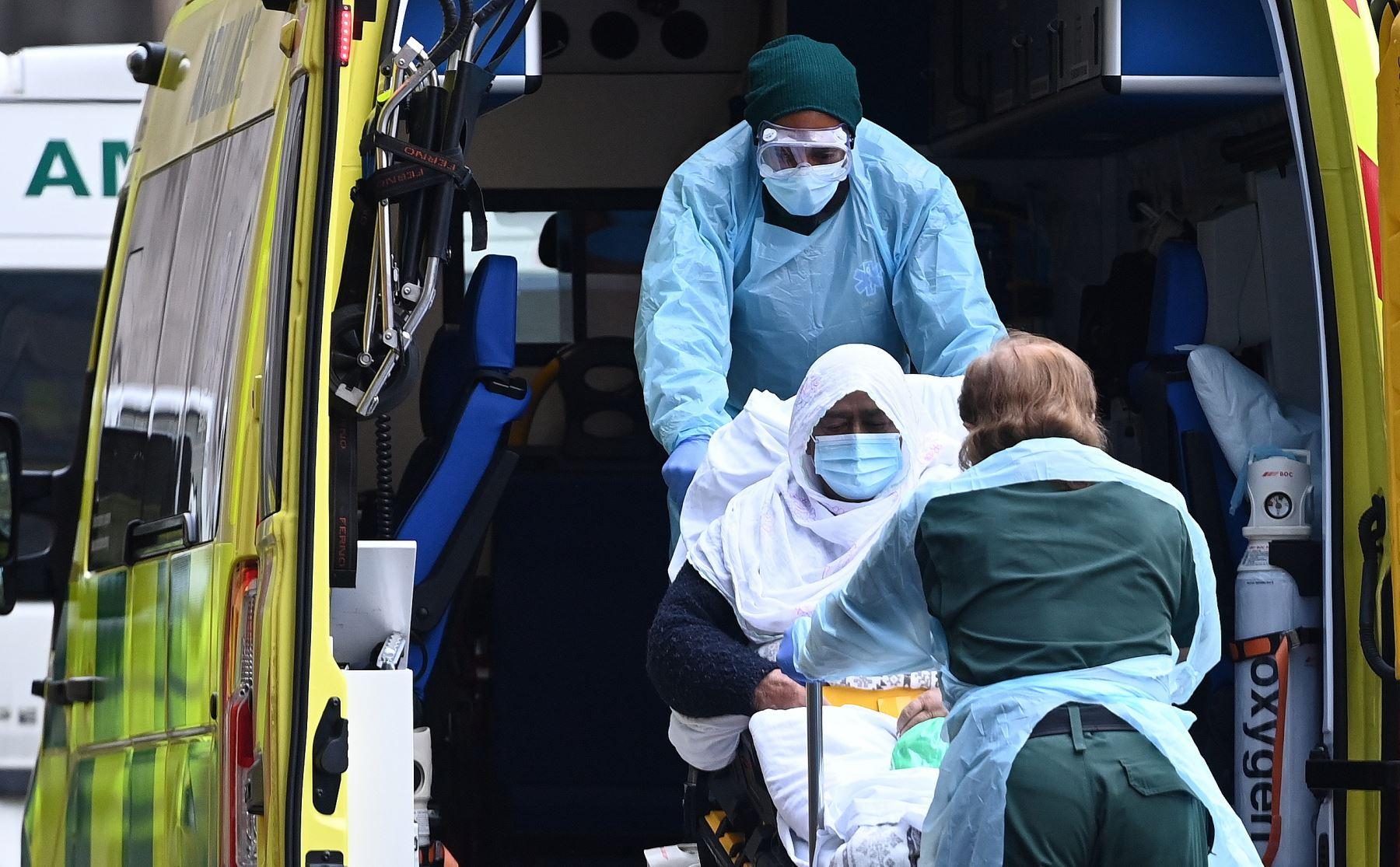 Reino Unido supera los 100.000 muertos por covid-19. Foto: EFE