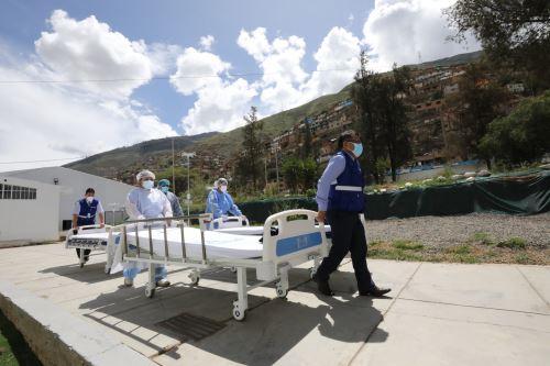 Essalud envío a Huánuco 50 concentradores de oxígeno y 40 camas para pacientes covid-19