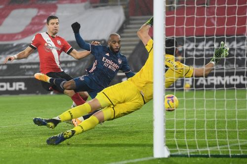 Arsenal venció 3-1 al Southampton por la Premier League