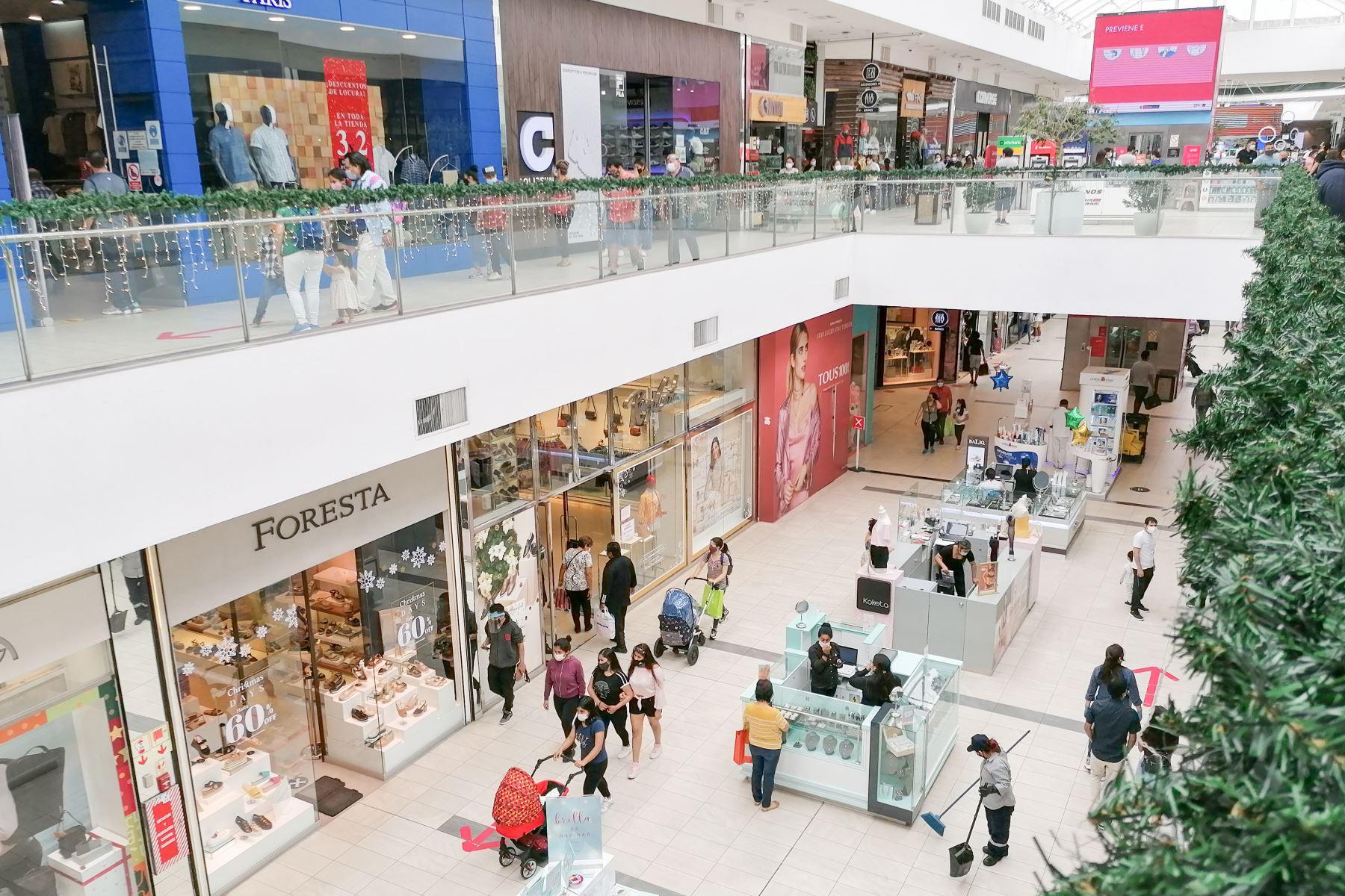 Centros comerciales. Foto: ANDINA/Difusión