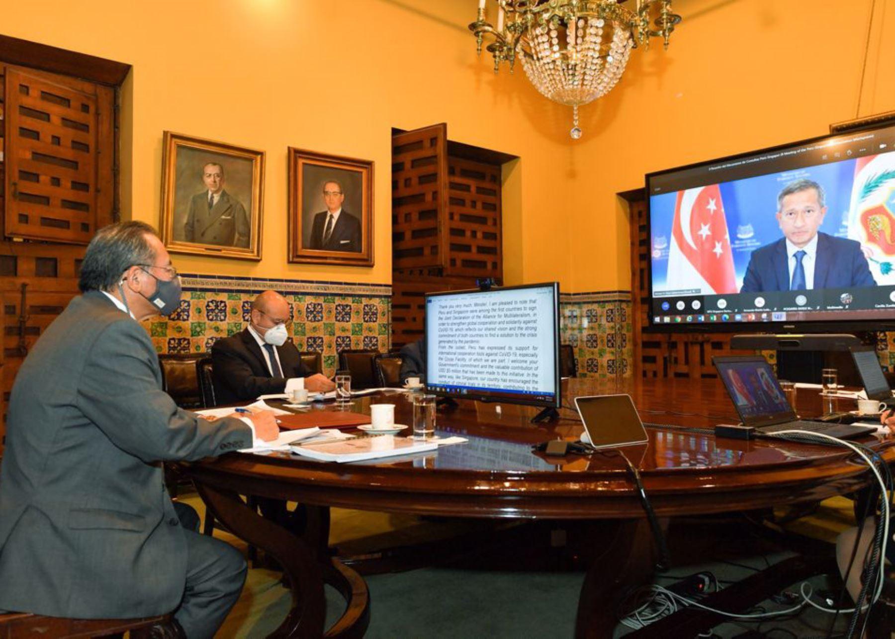 peru-y-singapur-realizan-ii-reunion-de-mecanismo-de-consultas