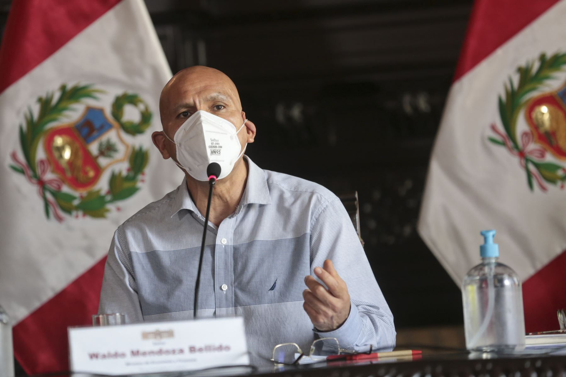 Ministro de Economía y Finanzas, Waldo Mendoza. ANDINA/Difusión