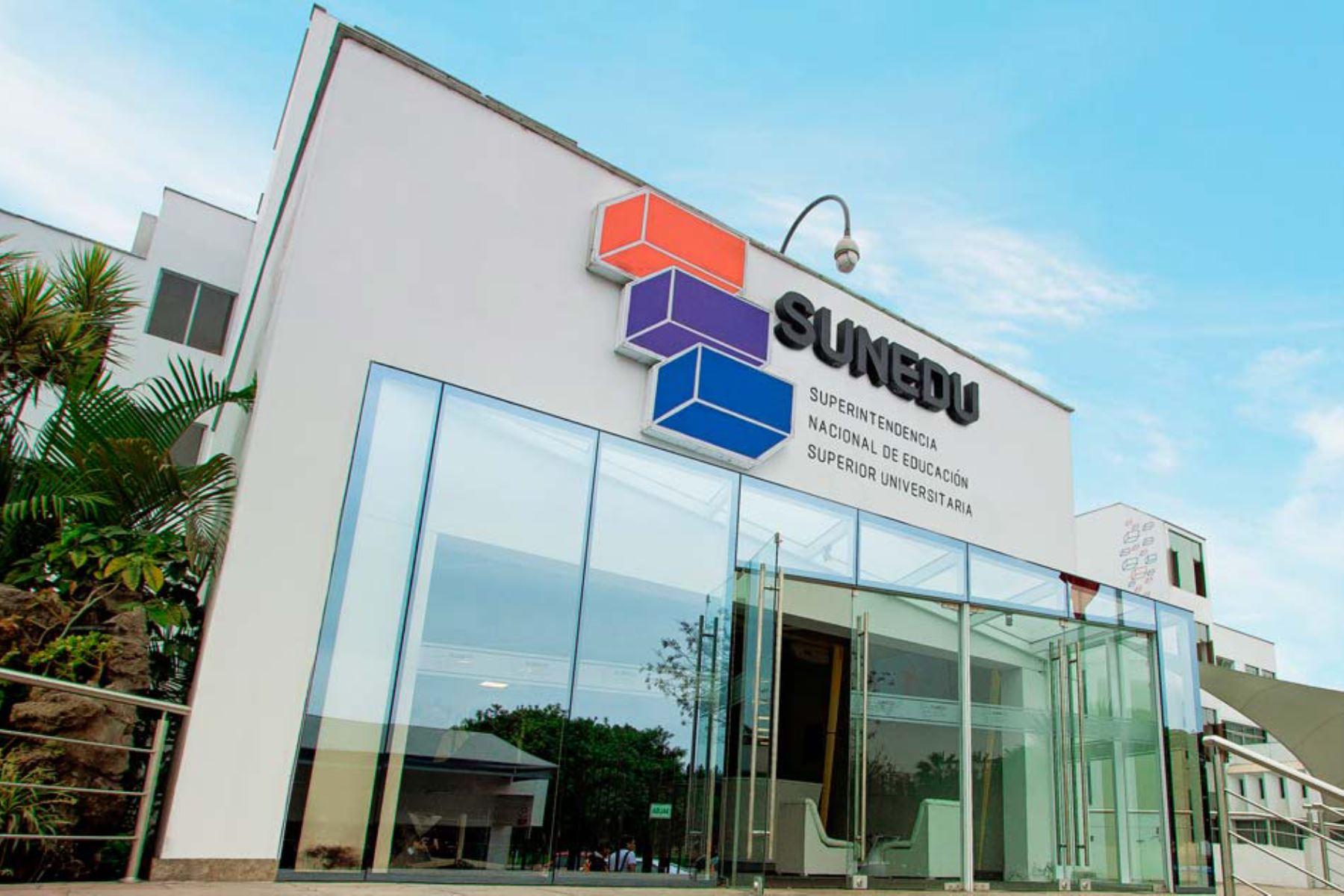 Sede de la Sunedu. Foto: ANDINA/difusión.