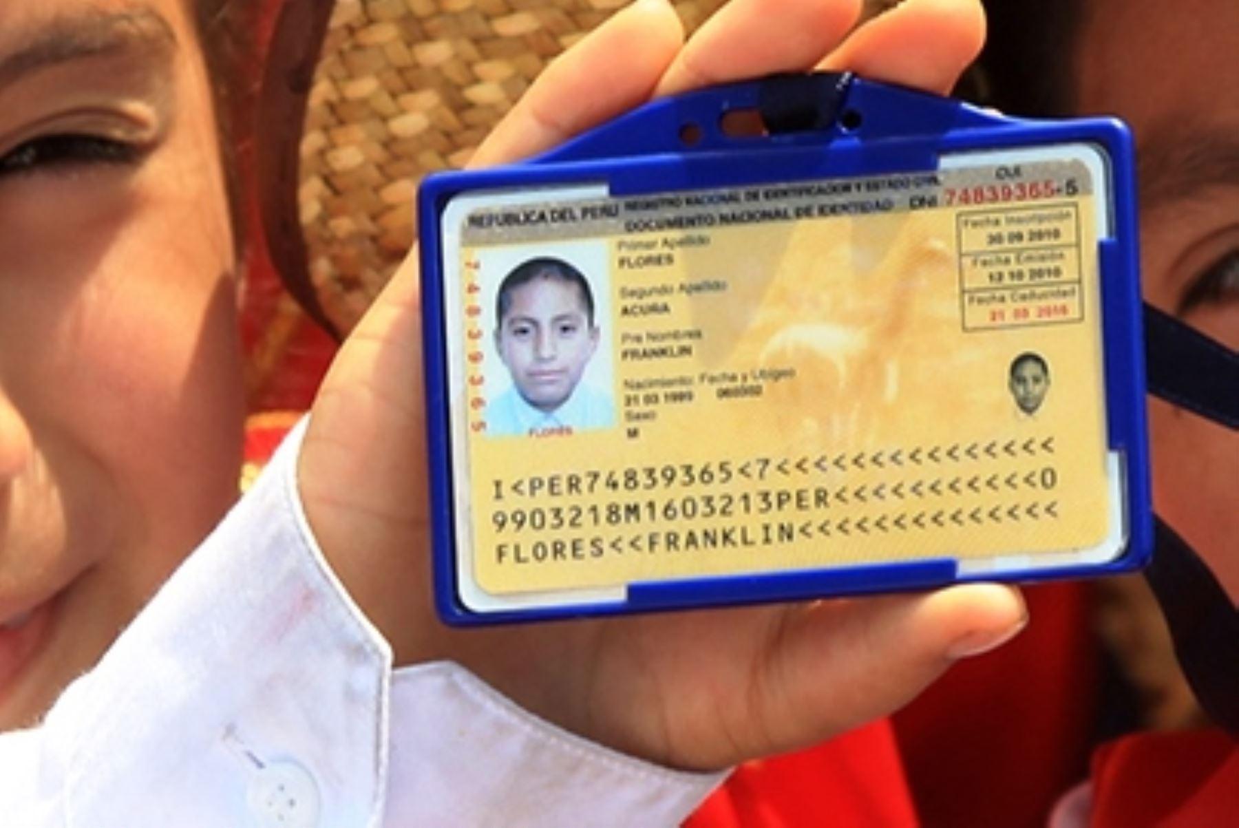 Reniec: jóvenes de 18 años con DNI amarillo podrán votar en los comicios del 11 de abril. Foto: ANDINA/archivo.