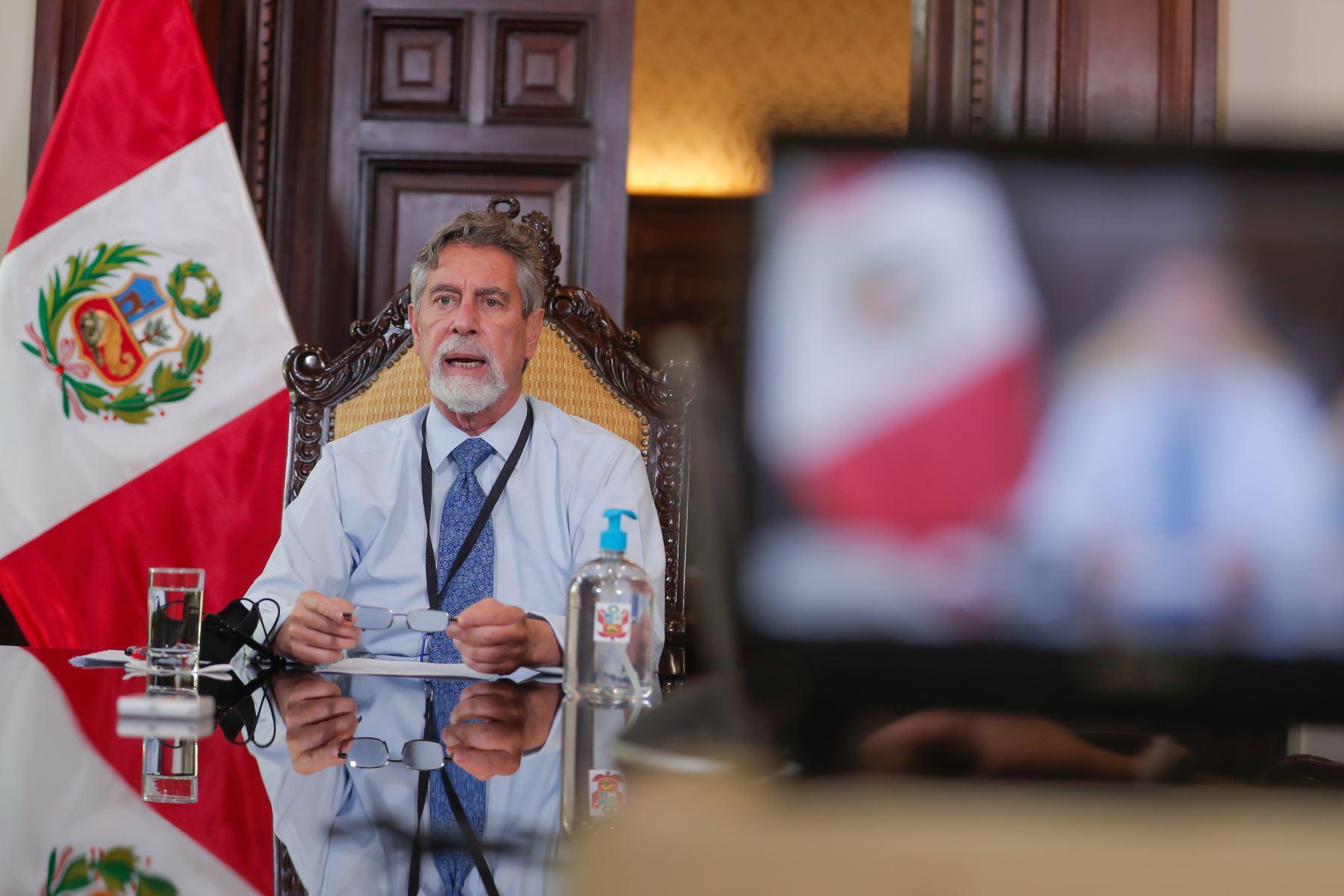 Presidente Sagasti: quien me suceda en el cargo encontrará un país más ordenado