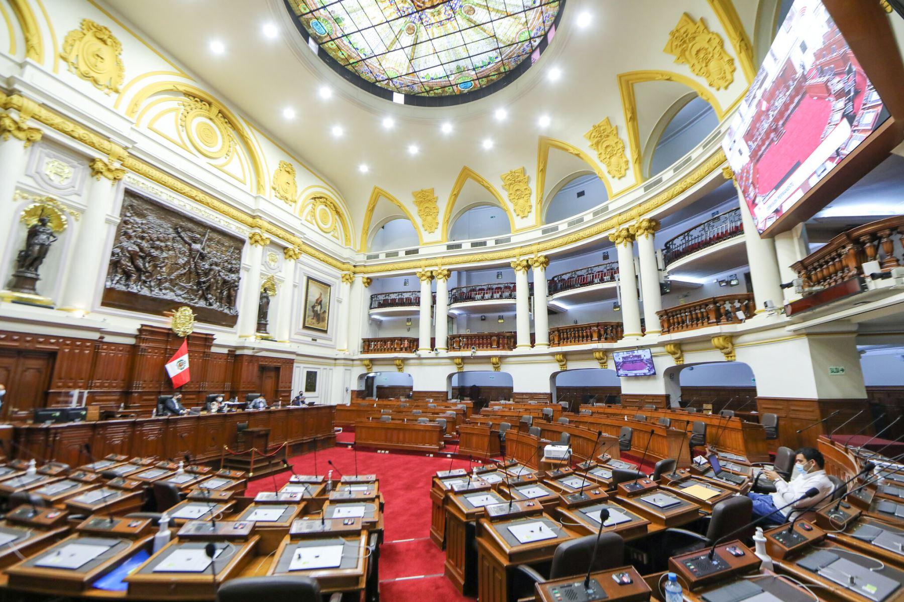 Comisión Permanente del Congreso de la República se reunirá mañana