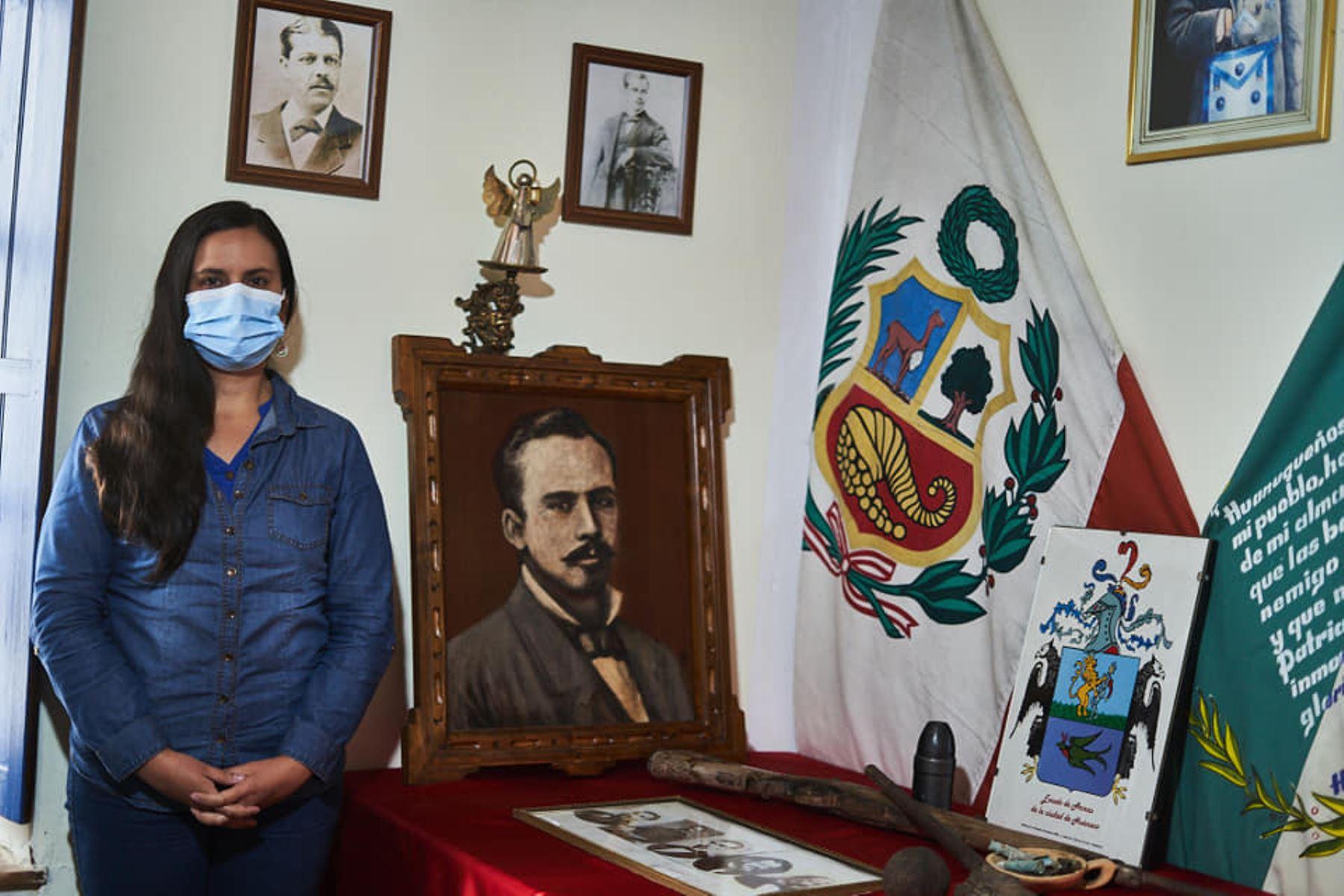 Verónika Mendoza visitó La Libertad. ANDINA/Difusión