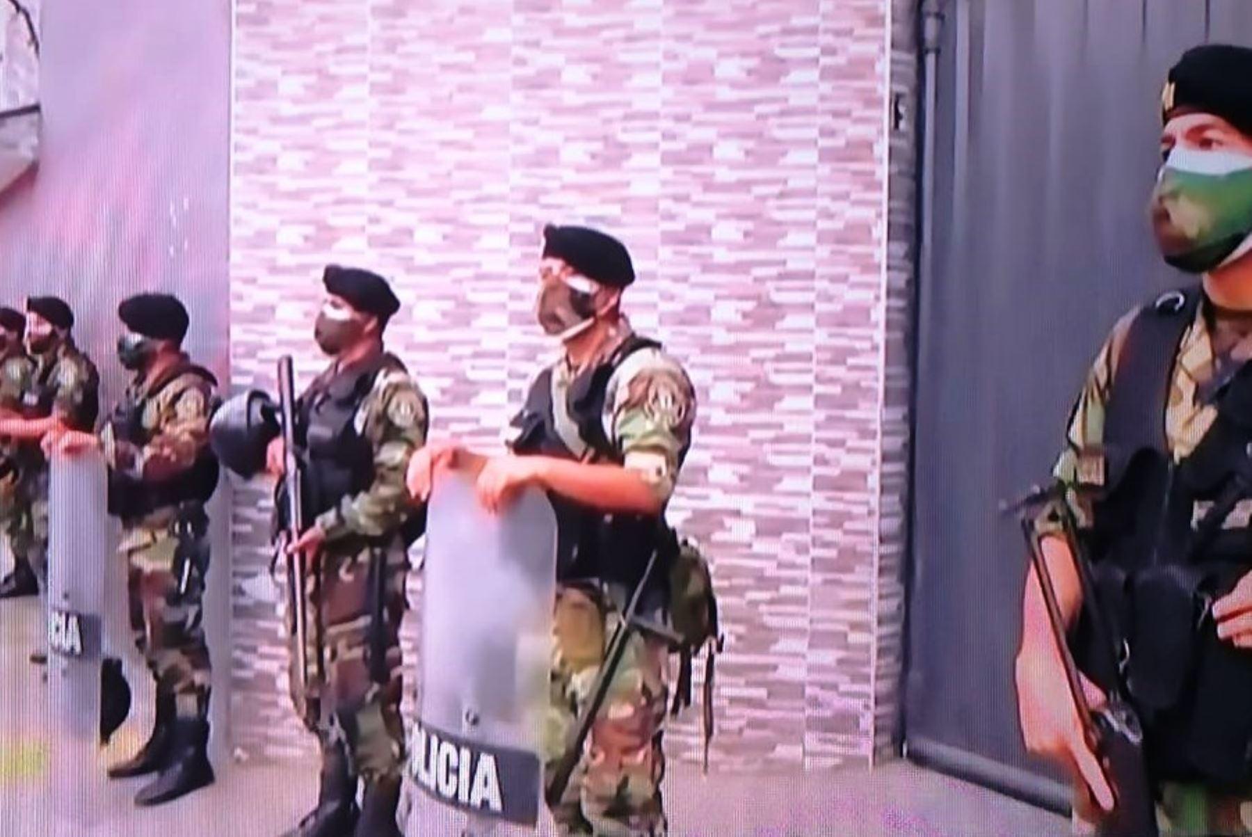 Más de 1,000 policías garantizarán arribo al Callao de primer lote de vacunas anticovid. Foto: ANDINA/Difusión.