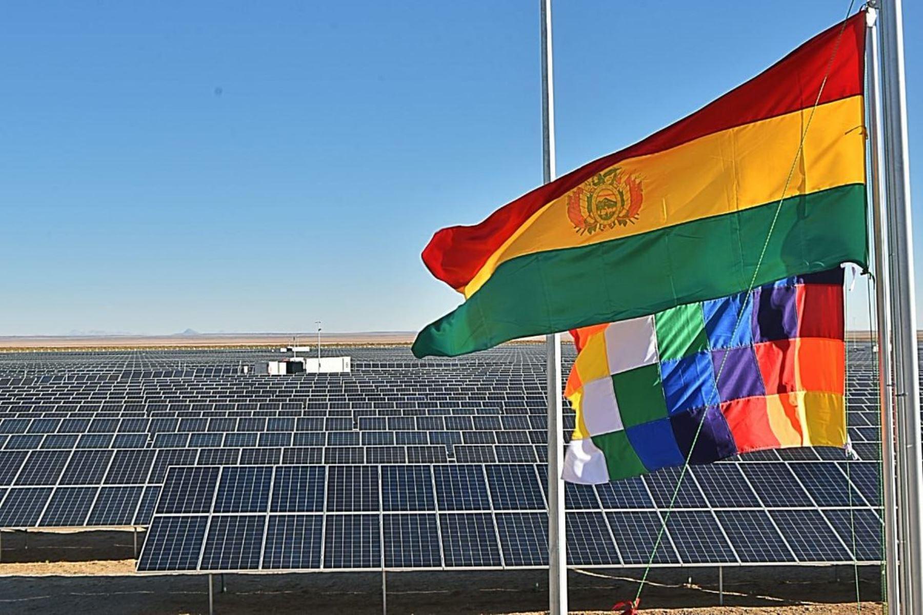 Una primera fase de esta planta del oeste de Bolivia fue inaugurada en septiembre de 2019. Foto: Internet