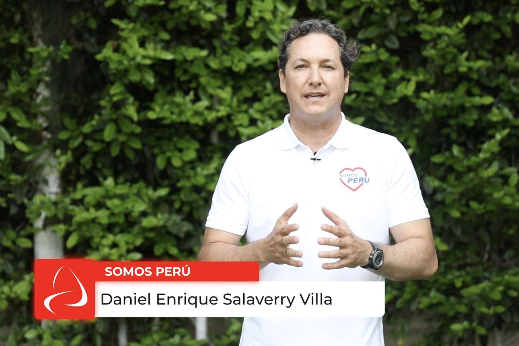 Daniel Salaverry estuvo en el programa