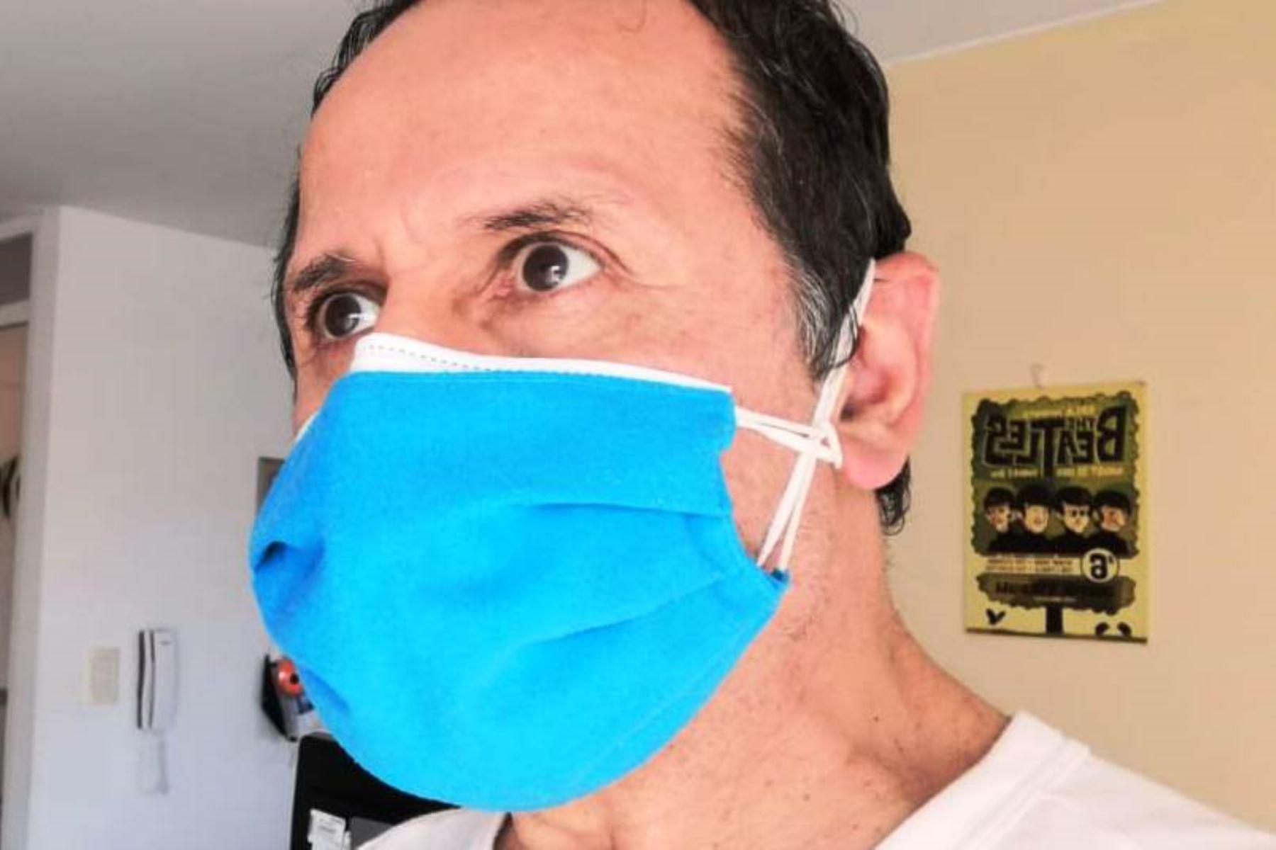Coronavirus: experto aconseja usar doble mascarilla en segunda ola. Foto: ANDINA/difusión.