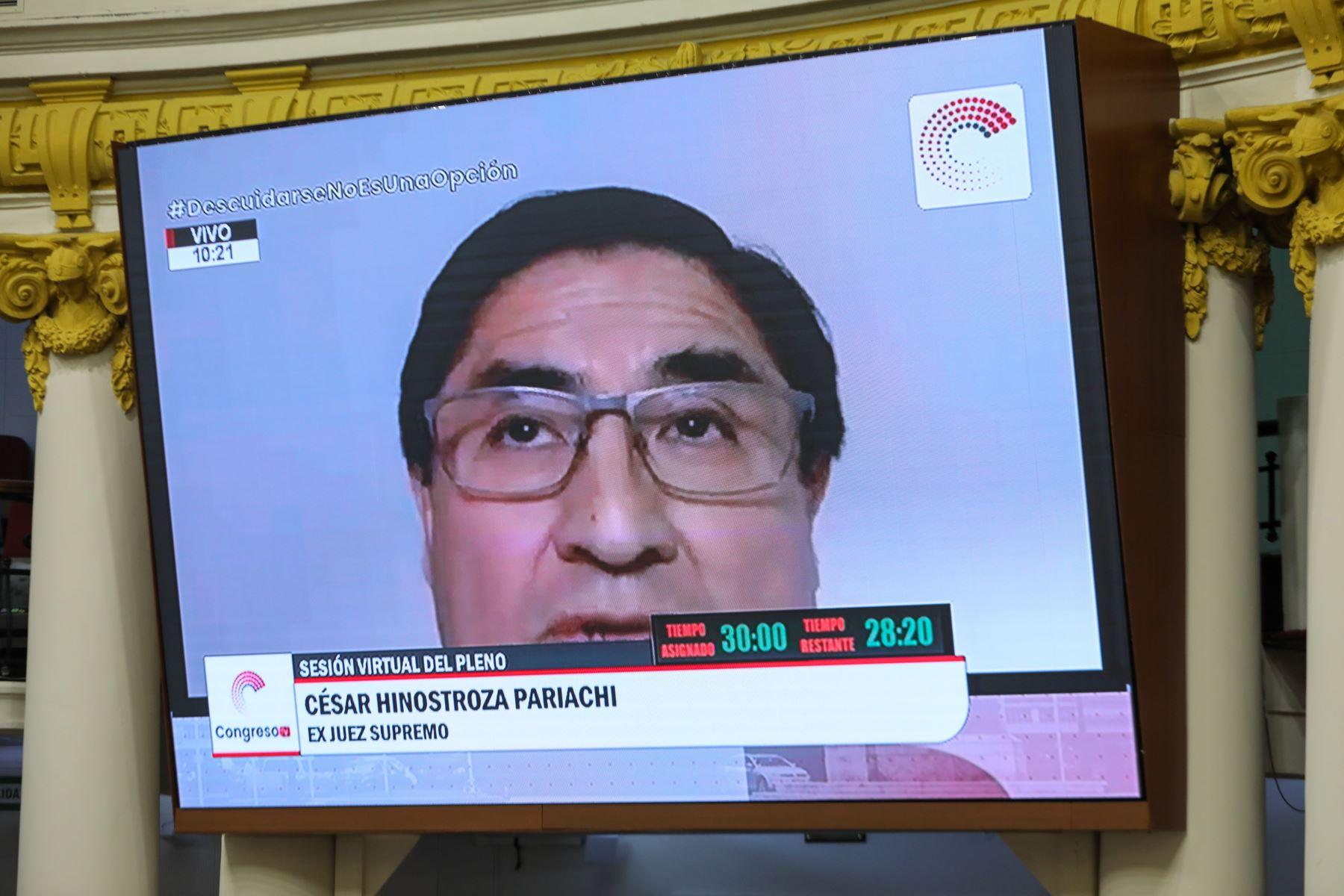 Declaran procedente ampliación de pedido de extradición de exjuez César Hinostroza