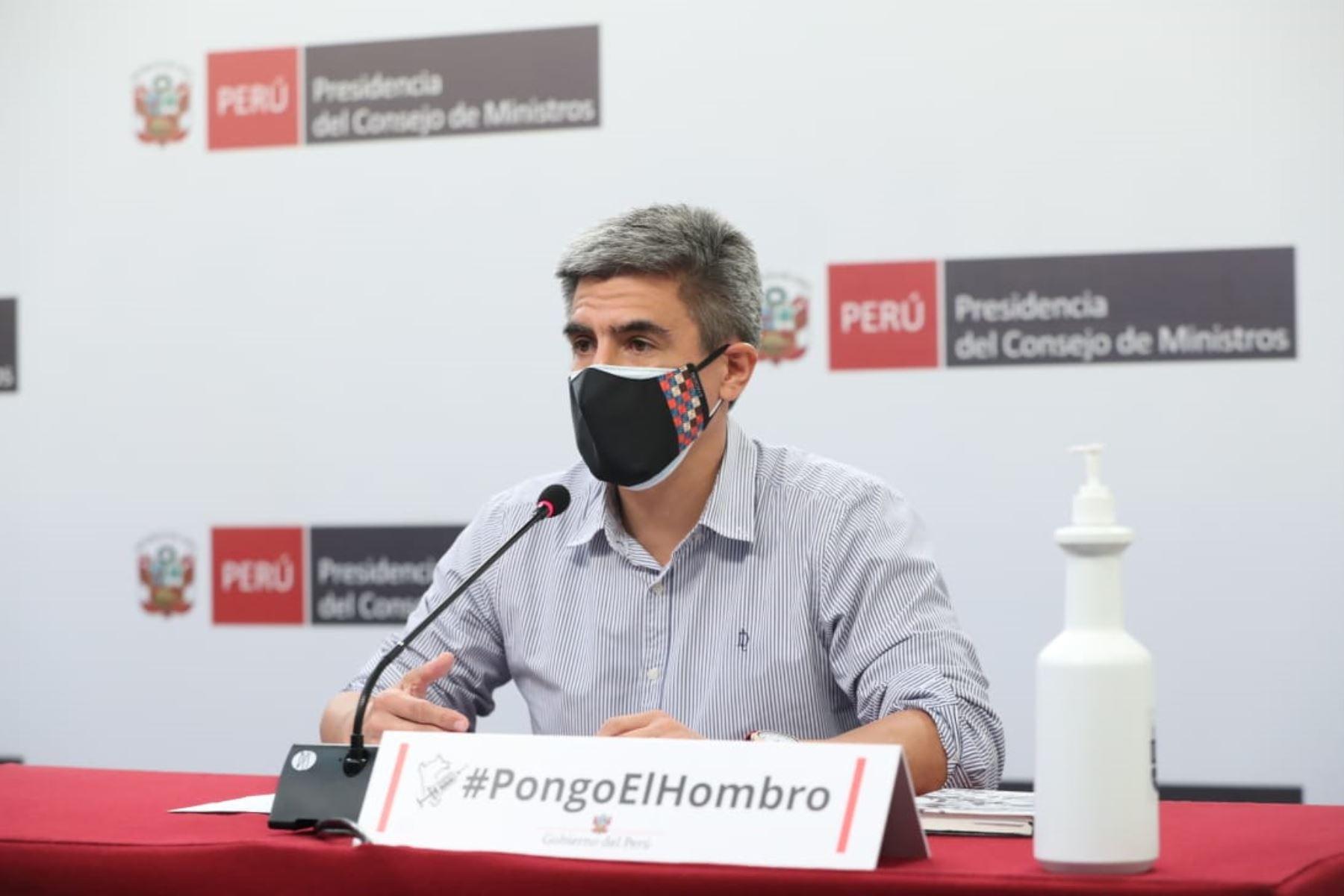 El ministro de Cultura, Alejandro Neyra, afirmó que de la mano con los gobiernos regionales se buscan soluciones a las necesidades de la ciudadanía. Foto: ANDINA/difusión.