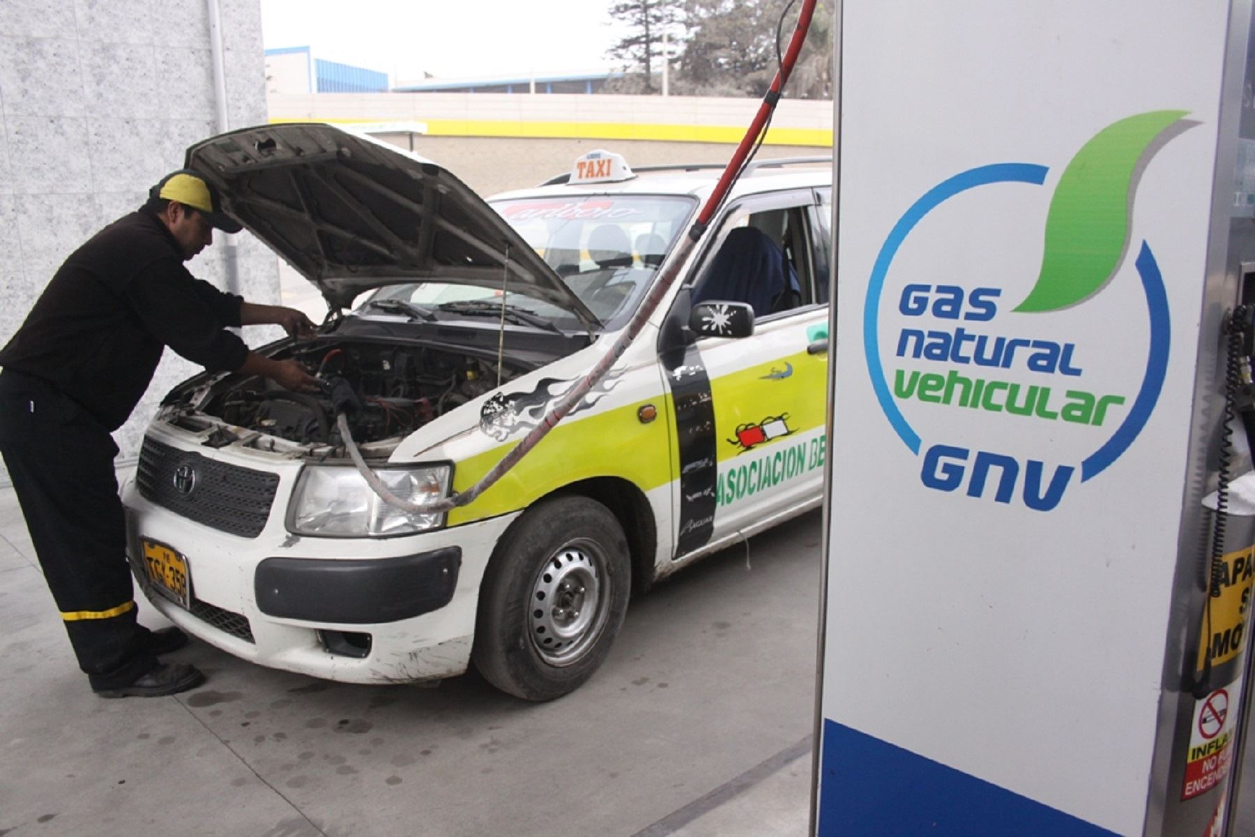 Gas Natural Vehicular.
