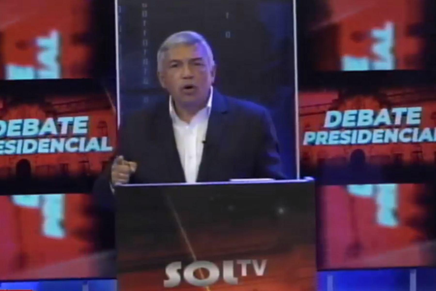 Alberto Beingolea, candidato presidencial por el PPC. Foto: ANDINA/difusión.