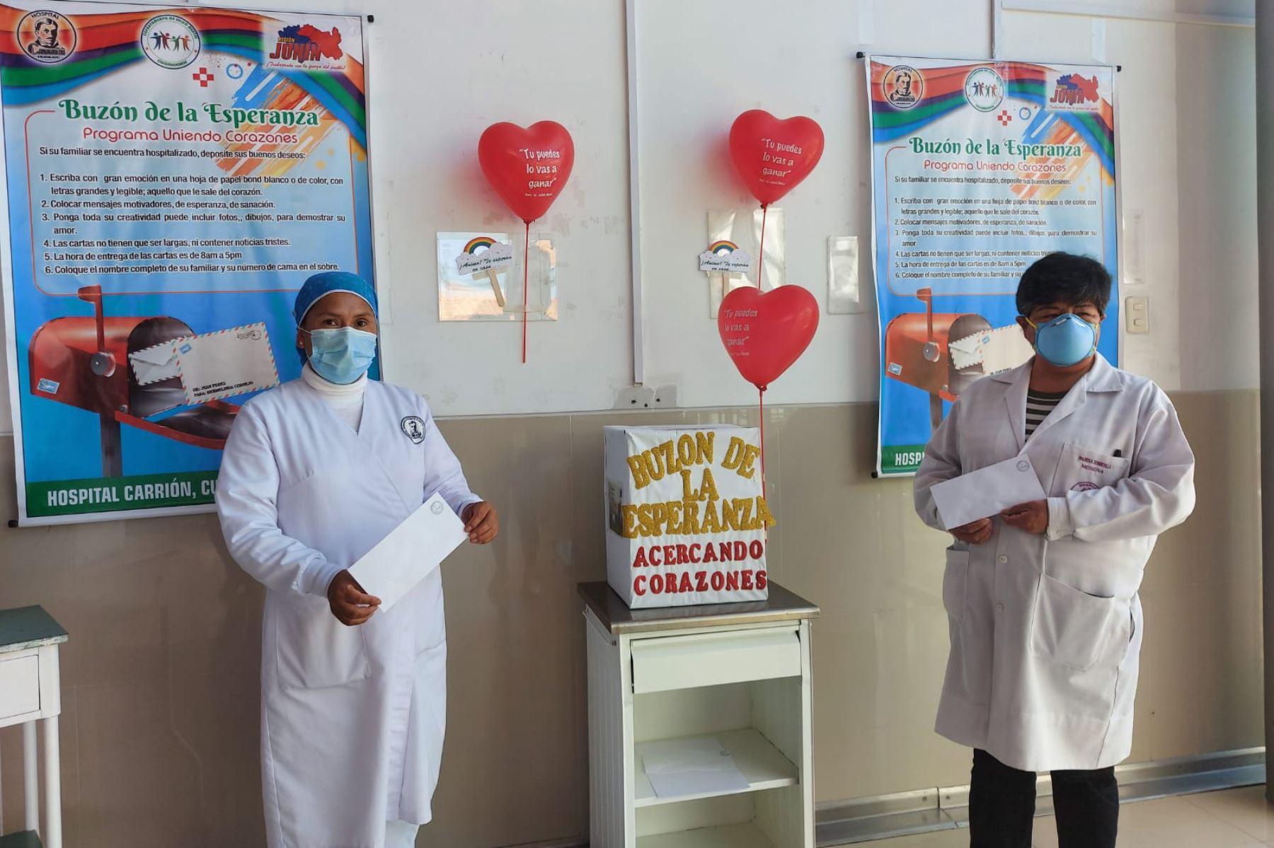 En el hospital Carrión de Huancayo, las cartas de motivación serán recibidas de 8:00 a 17:00 horas. Foto: ANDINA/Cortesía Pedro Tinoco
