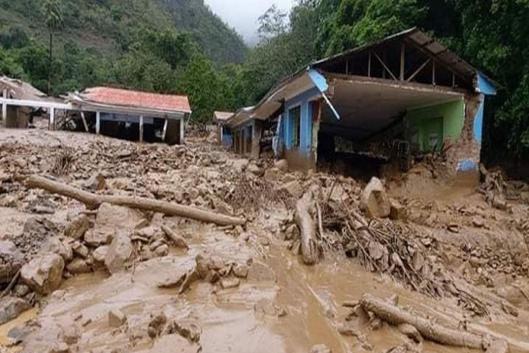 El huaico es un tipo de aluvión de magnitudes ligeras a moderadas, que se registra con frecuencia en las cuencas hidrográficas del país, generalmente durante el período de lluvias. ANDINA/Difusión