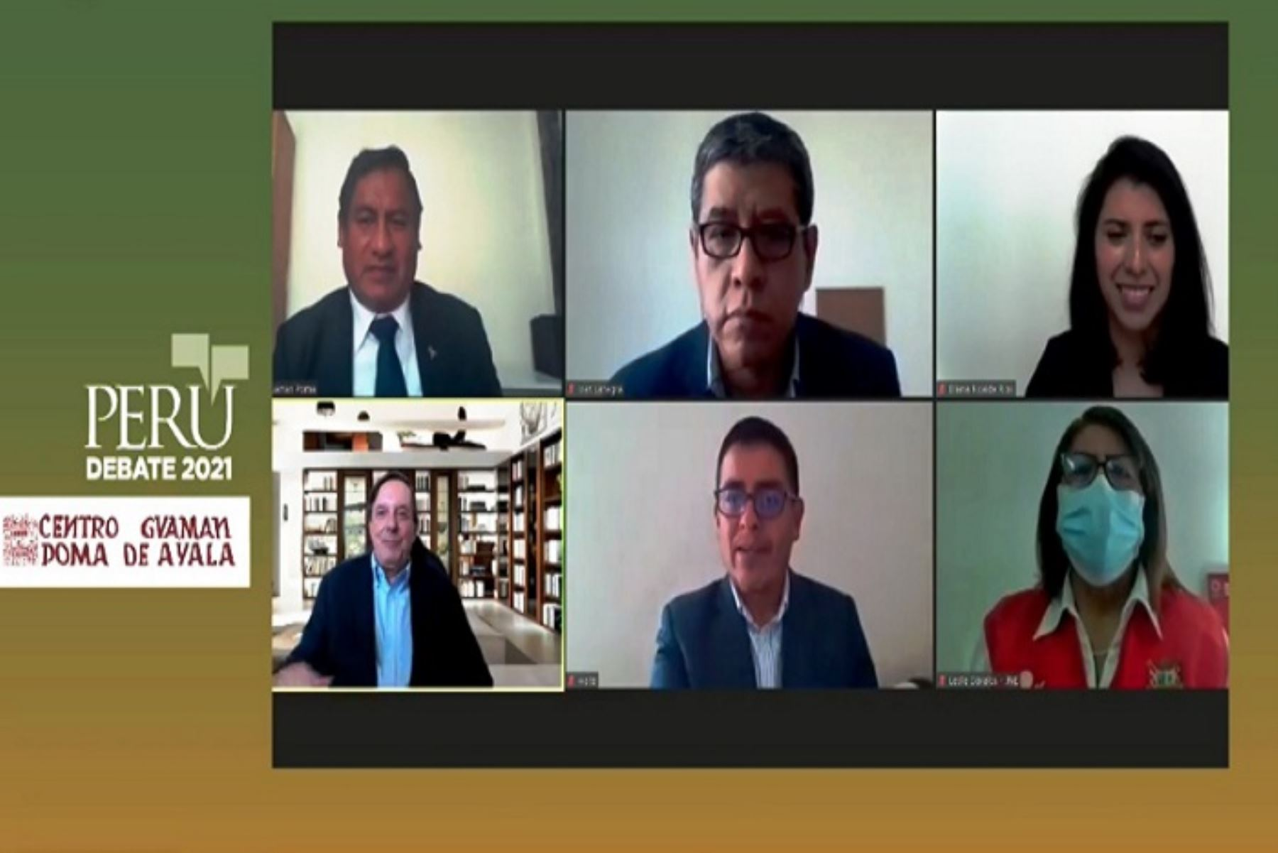 EL seminario Perú Debate 2021 es coorganizado con el Centro Guaman Poma de Ayala dela región Cusco.