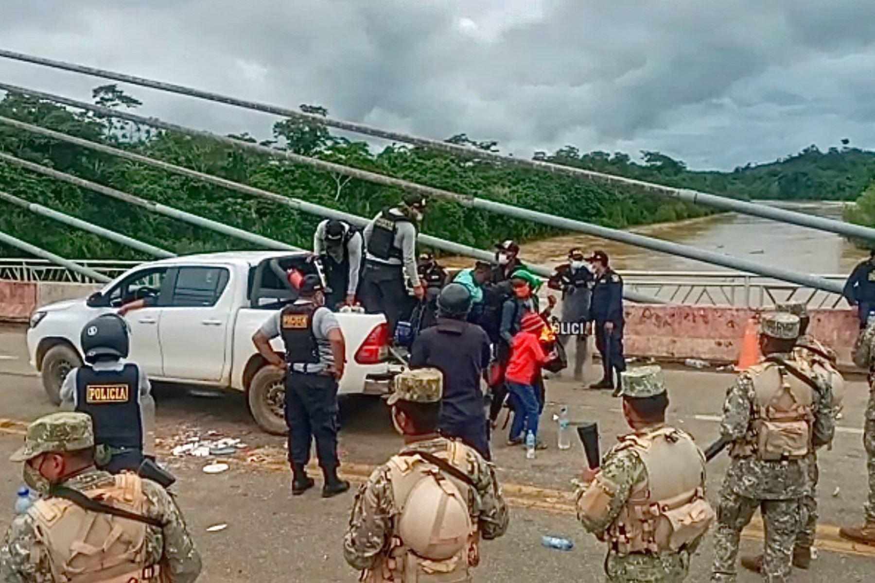 Las fuerzas del orden del Perú seguirán manteniendo el principio de autoridad y vigilando las fronteras. Foto: ANDINA/Difusión