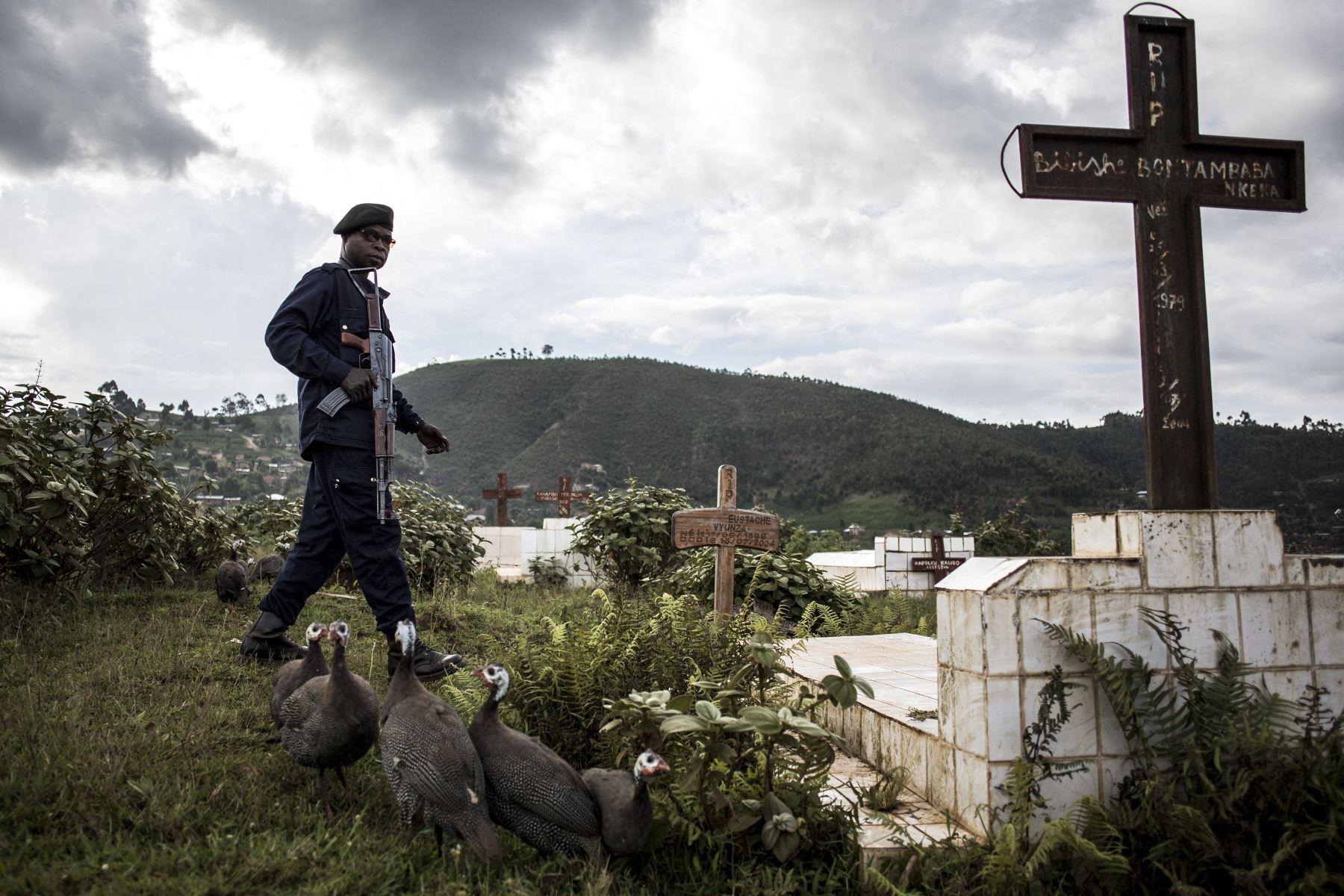 En los últimos siete días, África detectó 3,054 decesos, es decir una caída del 18% respecto a la semana precedente. Foto: AFP