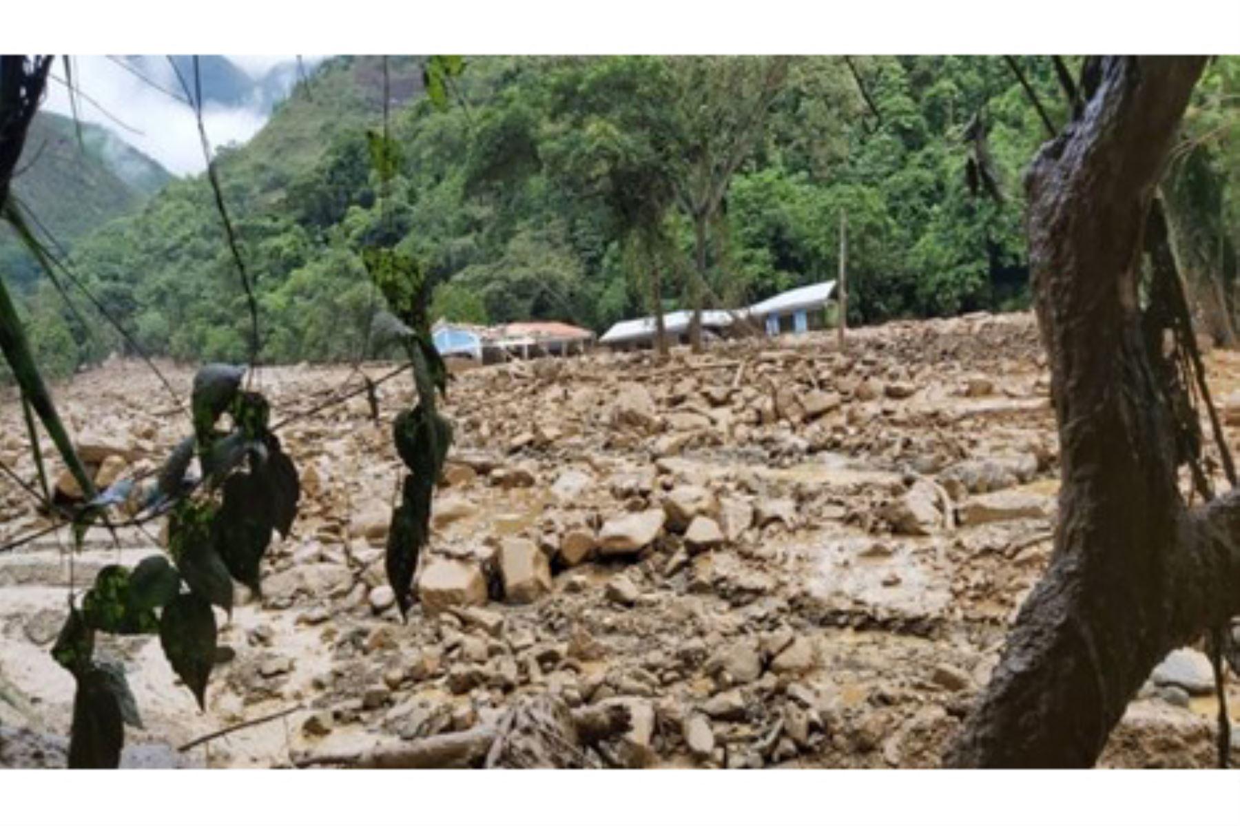 Los distritos de Echarate y Santa Ana, en la selva de la región Cusco, son azotados por las lluvias intensas. Foto: ANDINA/Difusión