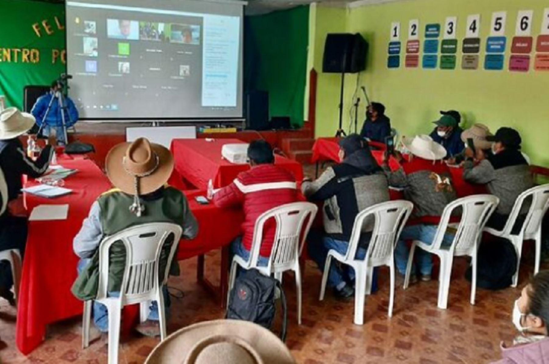 El diálogo con las comunidades de la provincia de Espinar continuará mañana en el Cusco (imagen de archivo). ANDINA/Difusión