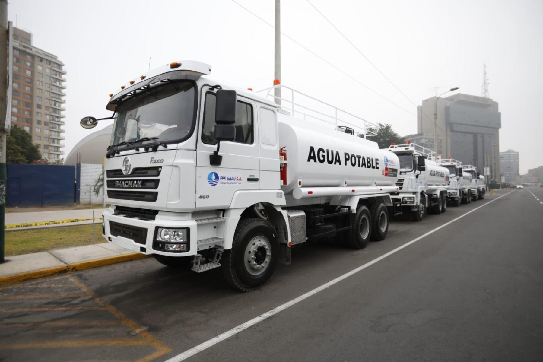 Camiones cisterna se dirigen a Lima, Ica, Amazonas, Cajamarca, San Martín, Áncash, Piura y Huancavelica. Foto: ANDINA/Difusión