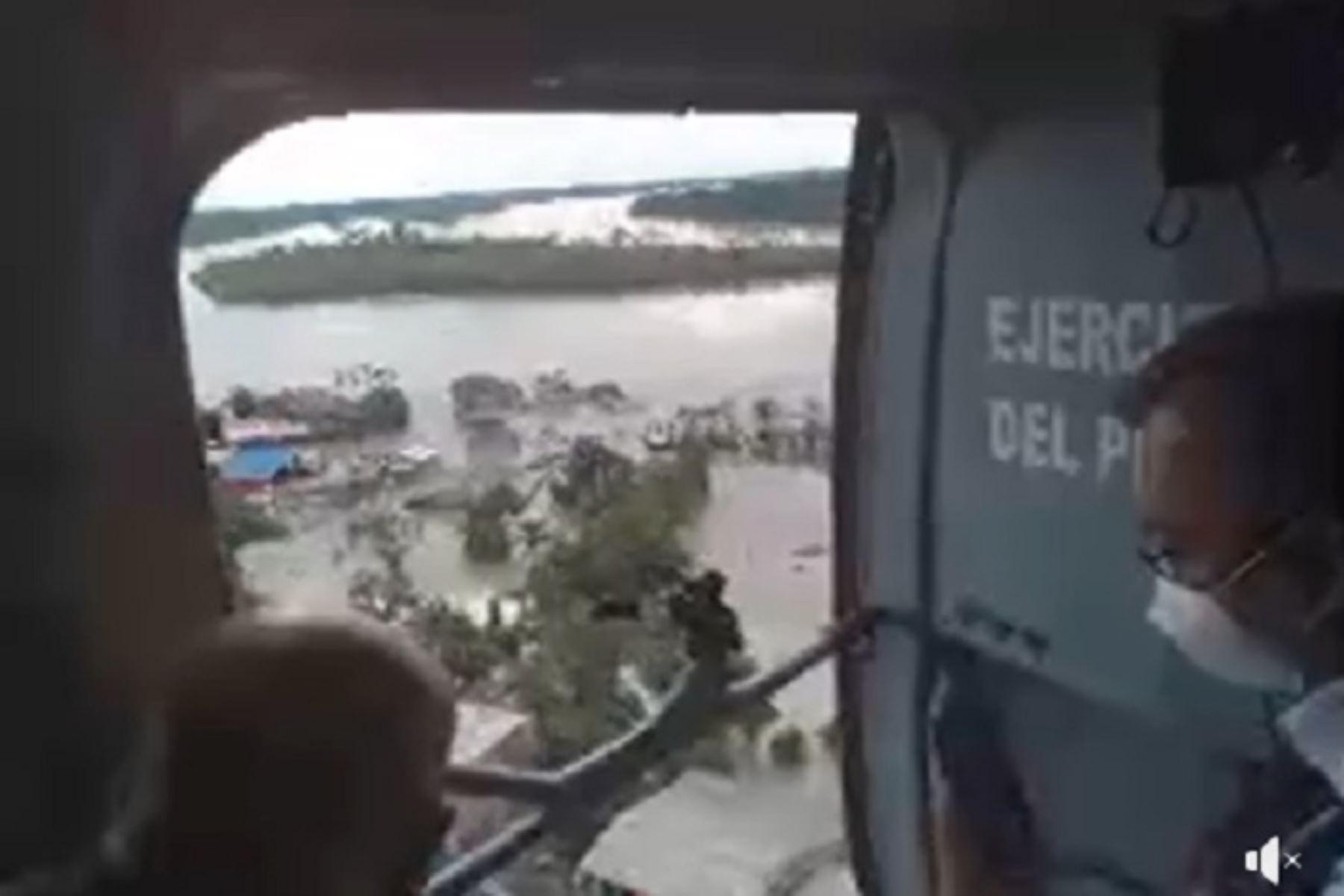 autoridades-nacionales-y-regionales-sobrevolaron-zonas-inundadas-en-madre-de-dios