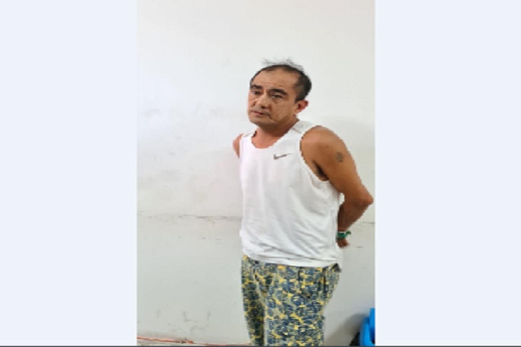 Corte de La Libertad ordenó 9 meses de prisión preventiva para Óscar Enrique Narro, alias Cara cortada, acusado de asesinar a ciudadano venezolano. ANDINA/Difusión