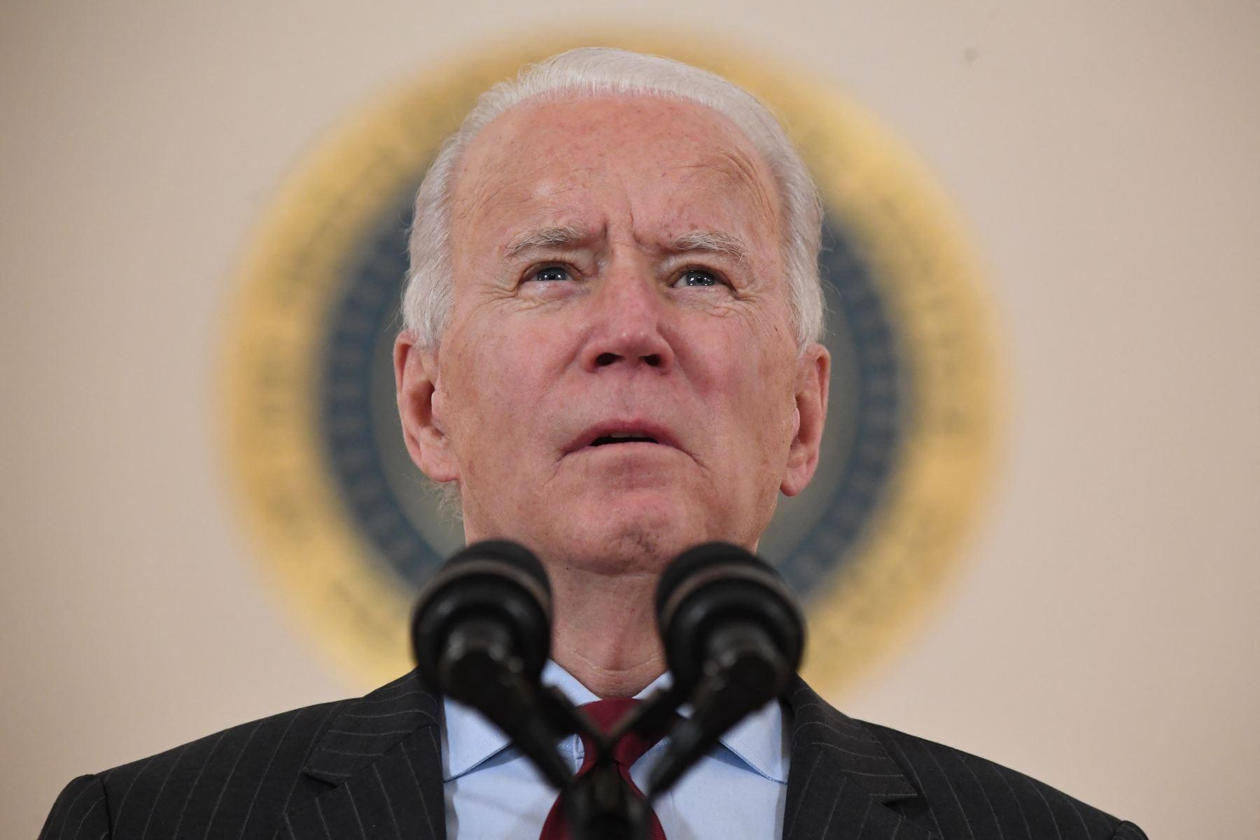 Presidente de Estados Unidos, Joe Biden, se pronunció sobre los atentados en Kabul. Foto: AFP