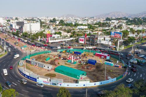 Municipalidad de Lima presenta inicio de obras en el Óvalo Monitor