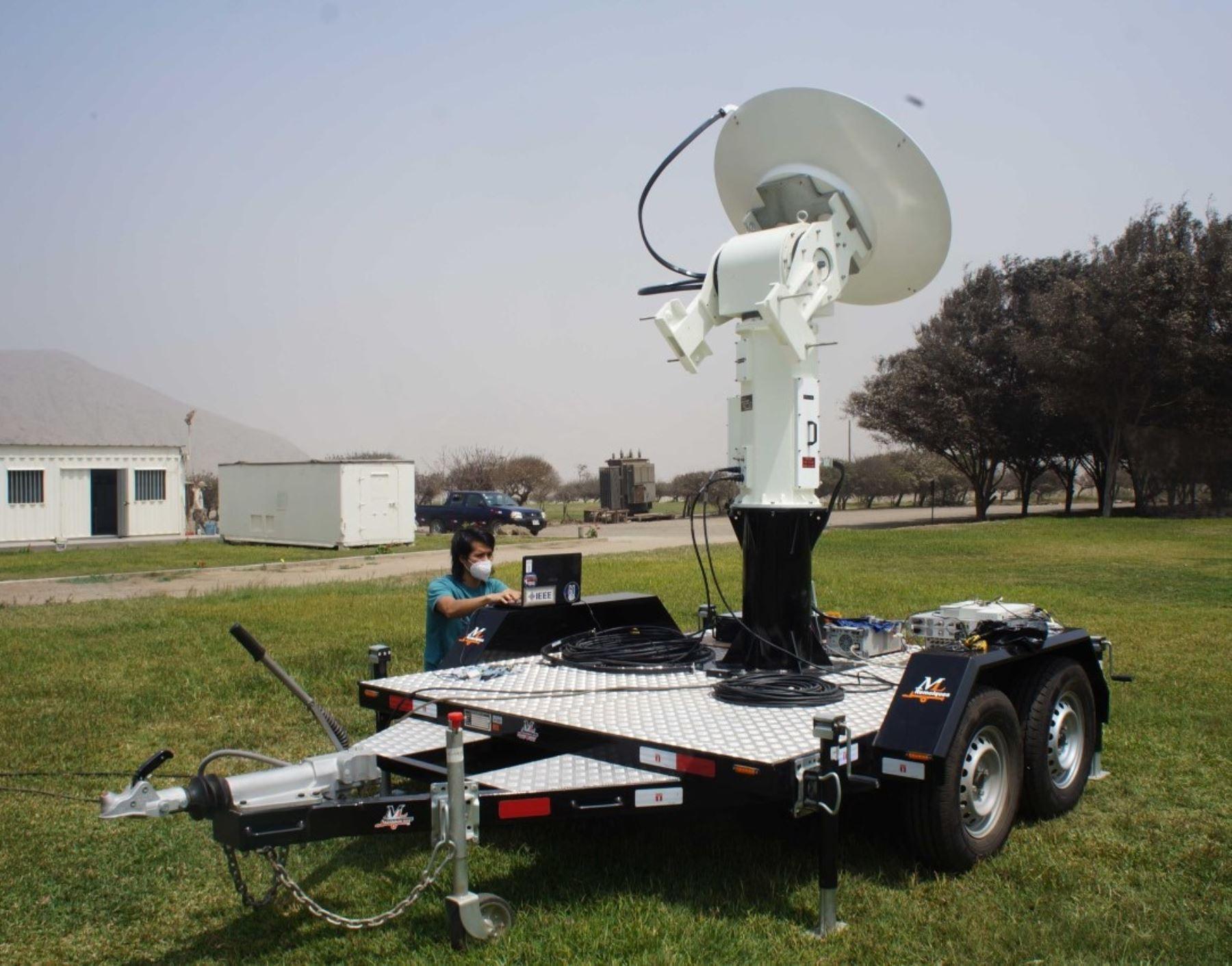 El IGP construye un radar de alta tecnología que permitirá monitorear lluvias y prevenir huaicos. El equipo se instalará en el Radio Observatorio de Jicamarca, informó el IGP.