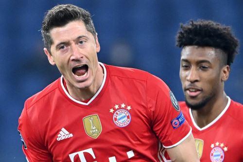 Bayern venció 4 a 1 a la Lazio por la Champions League