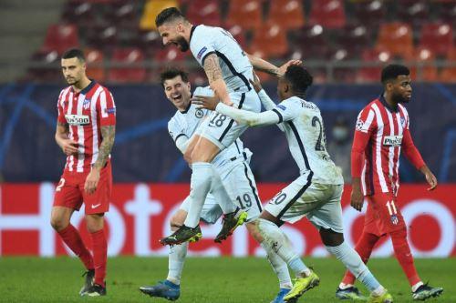 Chelsea vence 1 a 0 al Atlético de Madrid por la Champions League