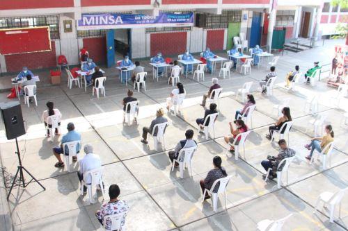 Ministerio de Salud realizó pruebas moleculares de diagnóstico covid-19 en Ate Vitarte