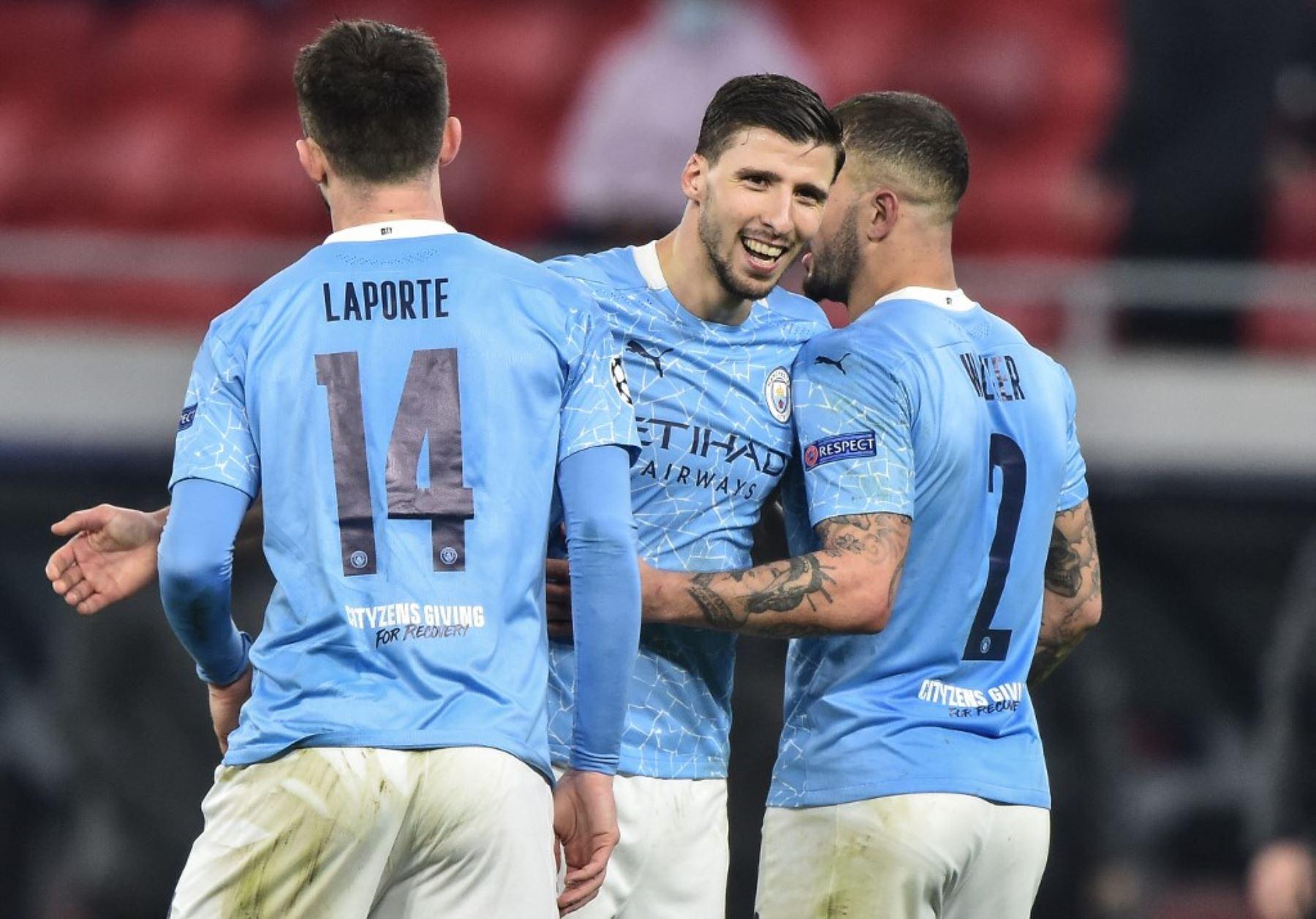 Manchester City a un paso de acceder a cuartos de final