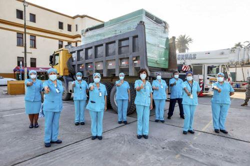 Hospital Arzobispo Loayza recibió la donación de una nueva planta de oxígeno