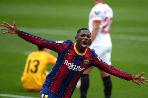 Barcelona gana 1 a 0 al Sevilla por la Liga Española