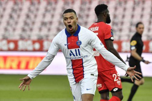 PSG gana 4 a 0 al Dijon por la Ligue  1