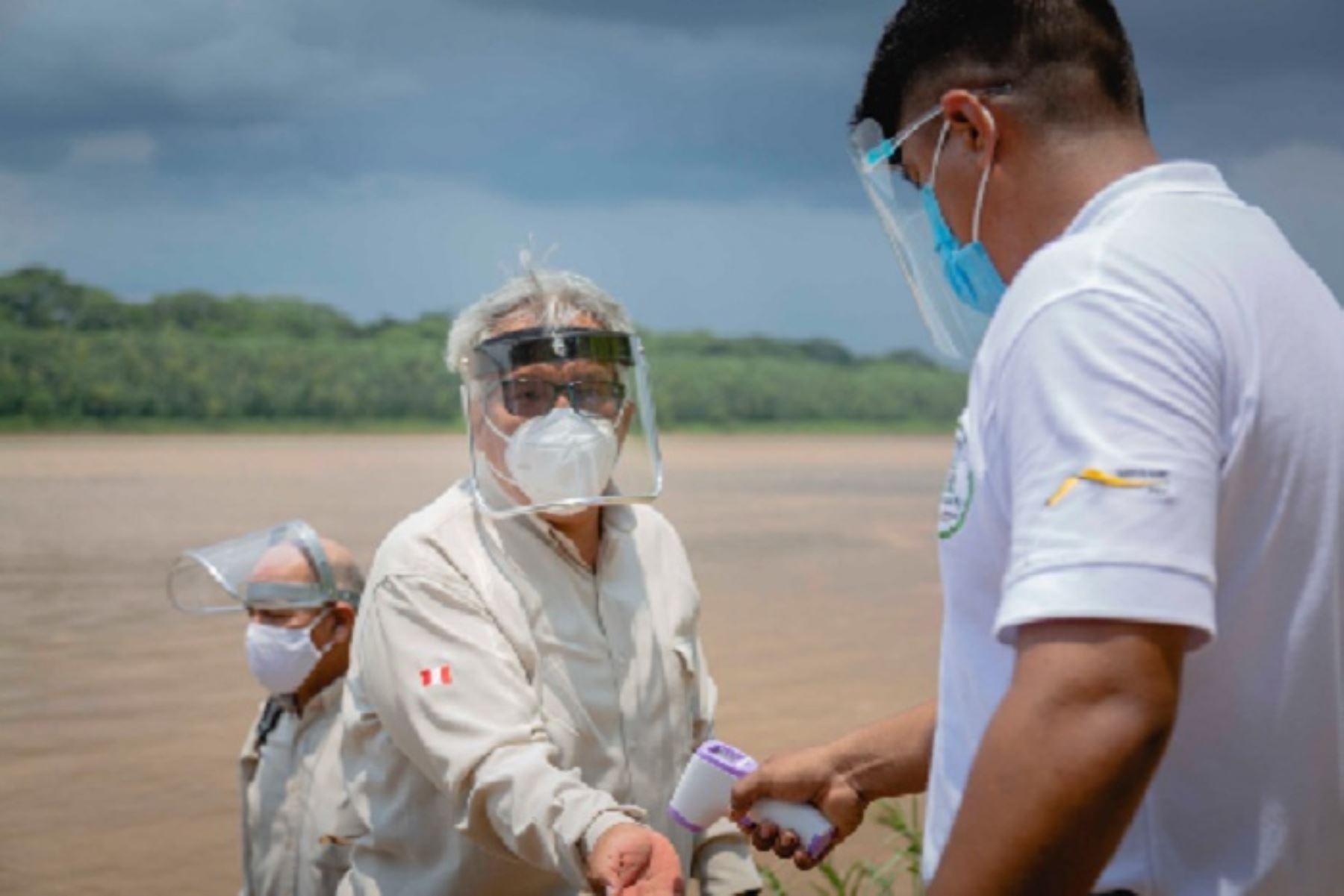 El Sernanp Invoca a los visitantes a cumplir con los protocolos de bioseguridad y respetar los controles de salud y procesos de desinfección dispuestos.