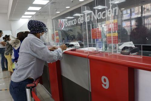 """Banco de la Nación lanza campaña  """"Agencias Libres """" para todos los beneficiarios del Bono 600"""