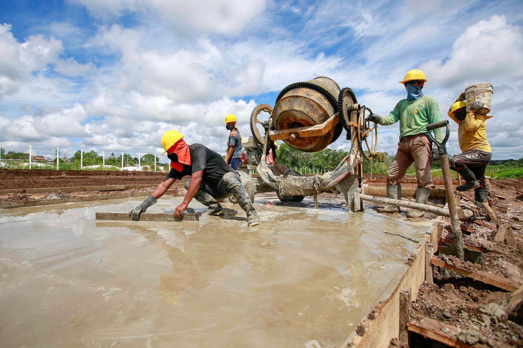 Desarrollo de obras bajo el mecanismo de Obras por Impuestos. Cortesía MVCS.