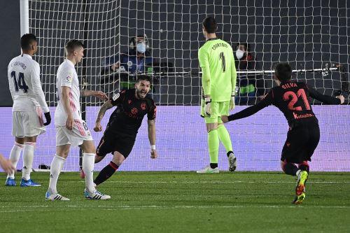 Real Madrid iguala 1 a  1 ante Real Sociedad por la Liga Española