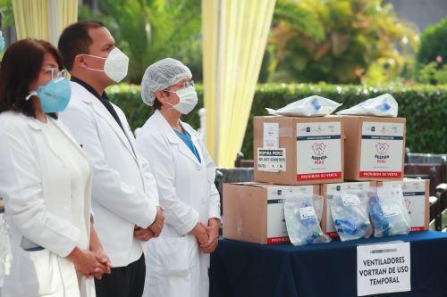 Hospital Loayza recibe equipos biomédicos radiológicos especializados