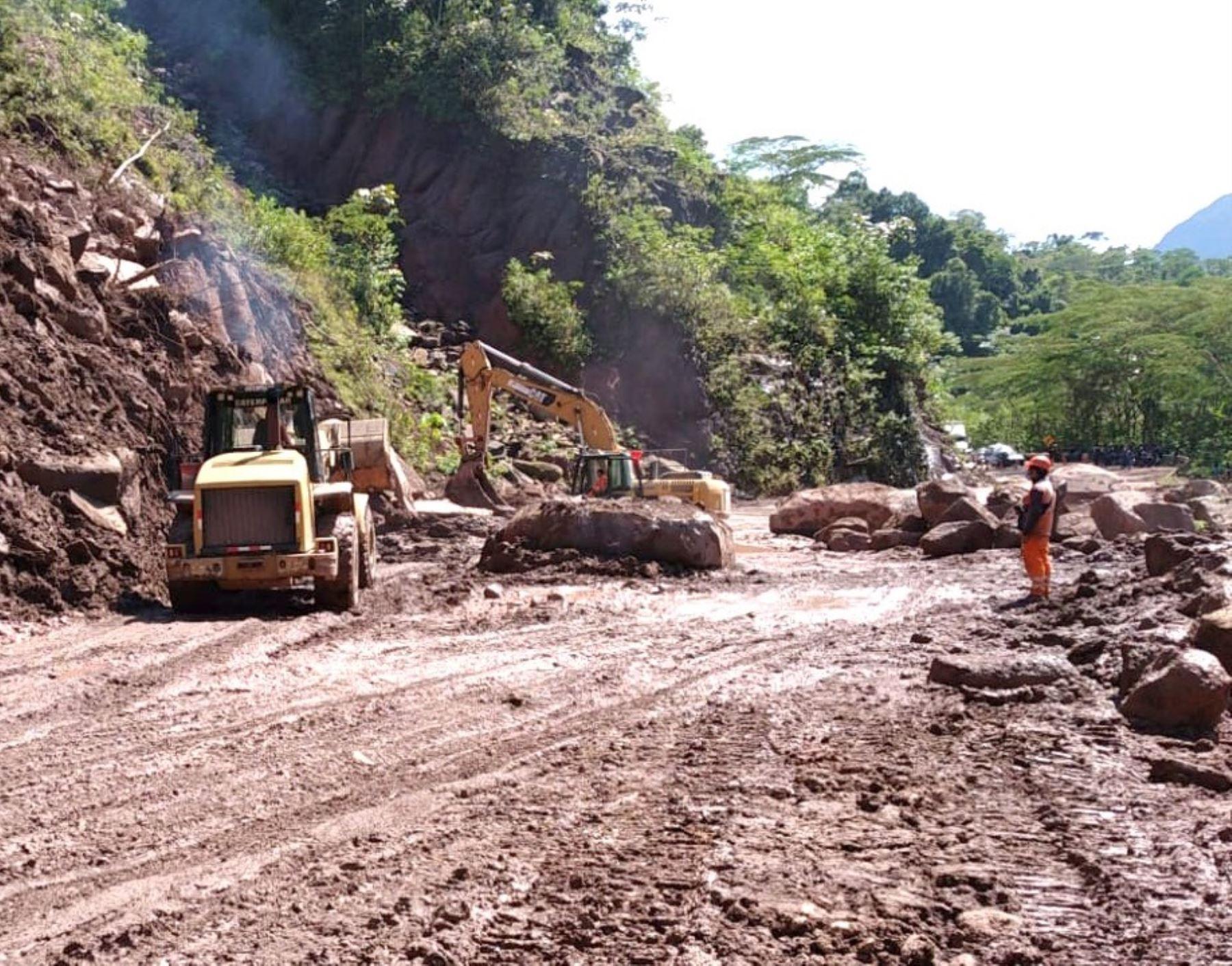 MTC informó que atiende un total de 16 emergencias viales en la región Ucayali causadas por las lluvias intensas. ANDINA/Difusión