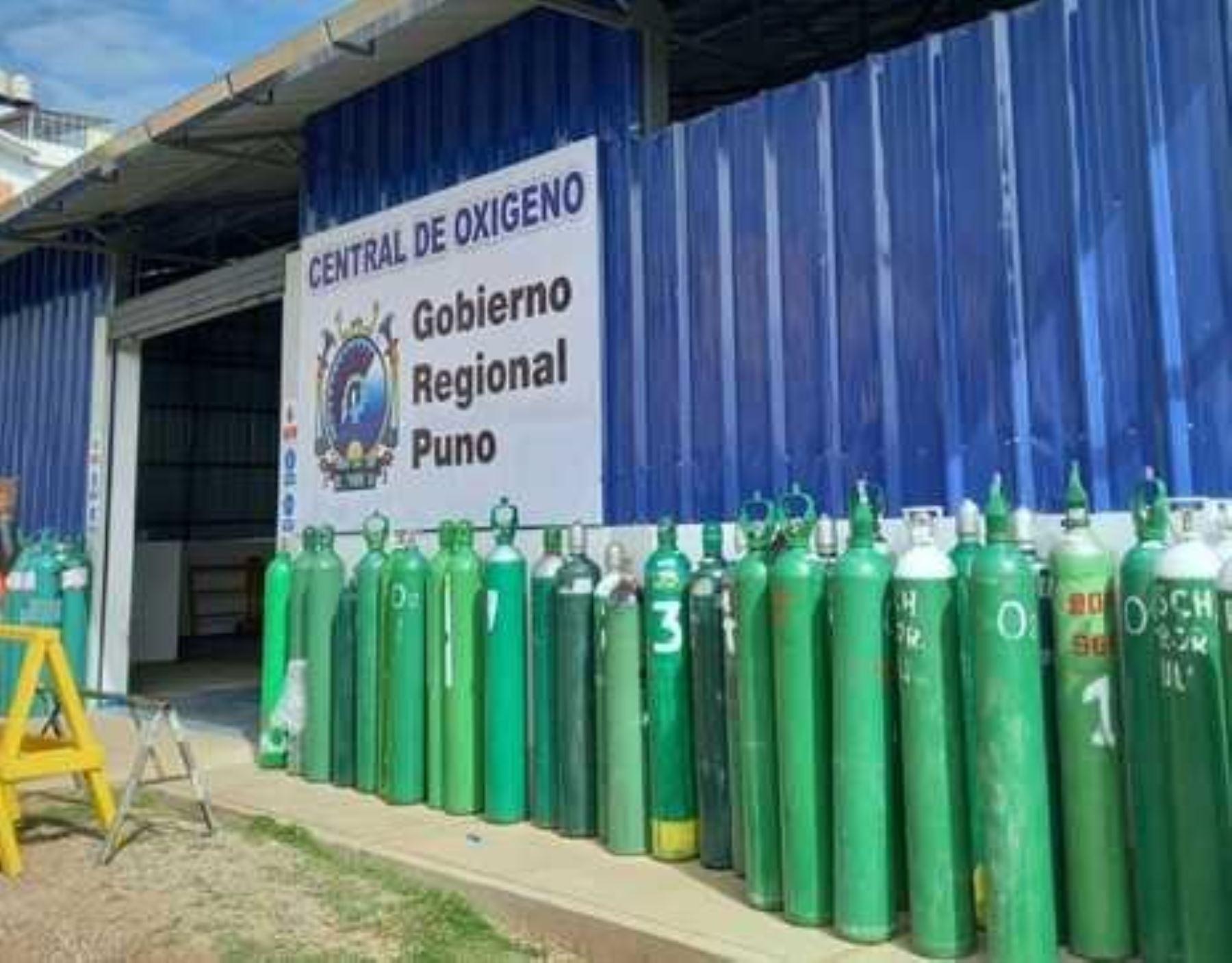 Minsa resalta que la región Puno cuenta con un buen abastecimiento de oxígeno medicinal gracias al apoyo del sector privado.