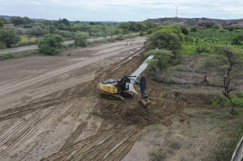 Supervisión de los trabajos de limpieza y descolmatación de ríos y quebradas de Tumbes