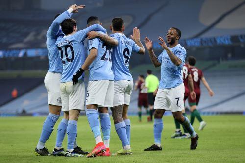 Manchester City vence 4-1 a Wolverhampton por la Premier League
